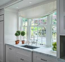 kitchen sink nook design transitional kitchen