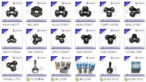toyota corolla joint universal joint c v tripod joint for toyota corolla ae80 23 teeth