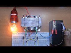 how to make 12v dc to 220v ac converter inverter circuit design