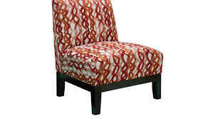 Accent Chairs 299 99 Basque Redhot Accent Chair Contemporary Polyester
