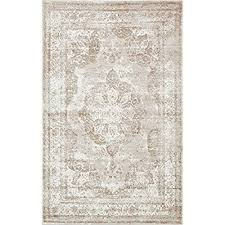 light brown area rugs beige and light brown area rug amazon com