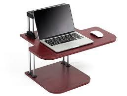 Hidden Laptop Desk by Amazon Com Height Adjustable Standing Desk Sit To Stand
