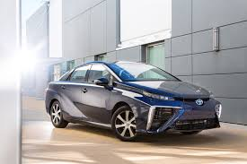 toyota now toyota fuel cell sedan now named