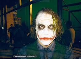 Heath Ledger Halloween Costume Heath Ledger Dark Knight U2014 Geektyrant