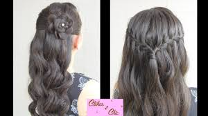 new year u0027s eve two options prom hairstyles half up half down