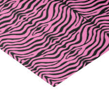 zebra tissue paper pink black zebra craft tissue paper zazzle