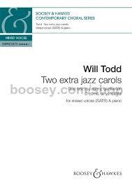 todd will two jazz carols satb piano
