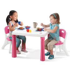 bedroom table ls set of 2 lifestyle kitchen table chairs set kids table chairs set step2
