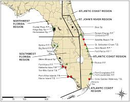 Map Of Southwest Fl Winter Habitat Preferences For Florida Manatees And Vulnerability