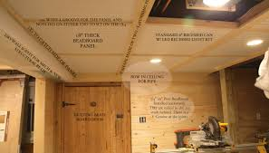beadboard ceiling panels image modern spray paint basement