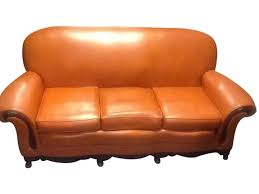 1970s Leather Sofa Best 25 Orange Leather Sofas Ideas On Pinterest Orange Living