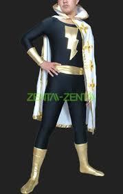 adam and costume black adam black and gold spandex lycra zentai suits