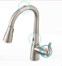 touch free kitchen faucet moen motionsense faucet warehouse com motion activated