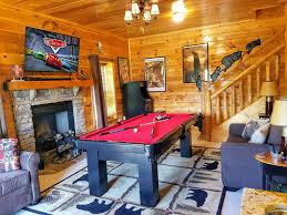 awesome views 5 4 lux cabin resort pool ar vrbo