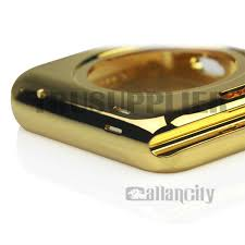 iwatch theme for iphone 6 24kt gold apple watch housing wholesale iphone accessories