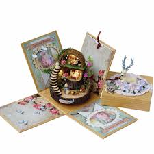 Diy Dollhouse Furniture Aliexpress Com Buy Diy Doll House Fantasy Forest Miniature