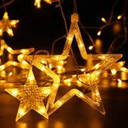 Lighted Star Window Christmas Decorations by Christmas Window Decorations