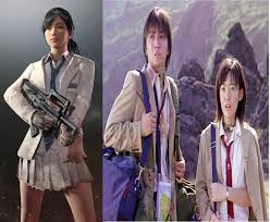 pubg skins new skins references to battle royale the movie album on imgur
