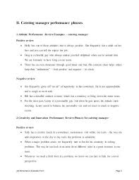 Catering Job Description For Resume Catering Manager Job Description Catering Manager Cv Template