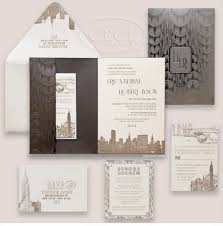 best 25 art deco calligraphy letterpress wedding invitations