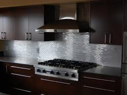 metal backsplash for kitchen kitchen backsplash contemporary stainless steel range