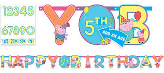 peppa pig birthday peppa pig party supplies peppa pig birthday party city