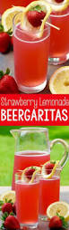 Party Pitcher Cocktails - raspberry lemonade margaritas recipe perfect margarita