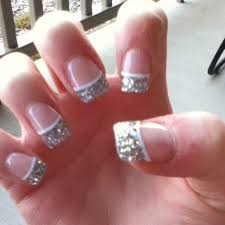 157 best glitter nails images on pinterest glitter acrylics