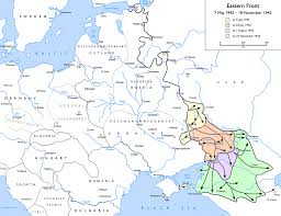 Battle Of Kursk Map Battle Of The Caucasus Wikipedia