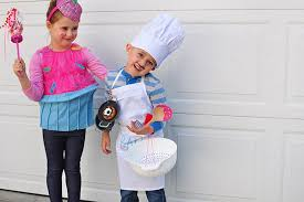 Chef Halloween Costumes Easy Baker Cupcake Store Bought Halloween Costumes