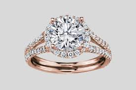 Rose Gold Wedding Rings by 8 Alluring Rose Gold Engagement Rings That Will Turn You Pink