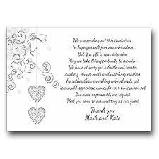 Wedding Gift Money Poem Wedding Invitation Poem For Money Wedding Invitation Sample