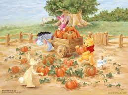 cartoon thanksgiving wallpaper free winnie the pooh wallpaper wallpapersafari