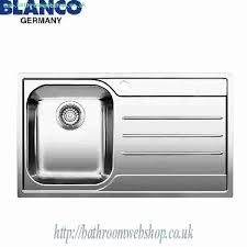 Stainless Steel Kitchen Sinks Blanco Median 45s If 18 10 Stainless