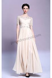 prom dresses online apricot lace short sleeves 2015 prom