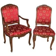 Red Armchairs For Sale Louis Xv Furniture 4 389 For Sale At 1stdibs