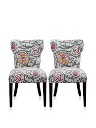 French Wingback Chair Furniture French Wingback Chairs With Flower Print Chairs And