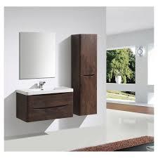 Bali Bathroom Furniture 600mm Bali Chestnut Wall Mounted Cabinet Plumbworkz