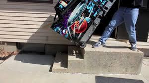 escalera stair climber one man pinball machine mover youtube