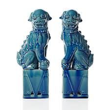 turquoise foo dogs for sale turquoise foo dogs copycatchic