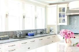 gray countertops with white cabinets gray backsplash white cabinets ideas white kitchen with grey subway