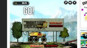 miniclip monster truck nitro 2 alex plays monster trucks nitro 2 miniclip com review youtube