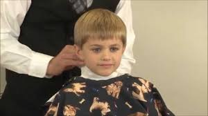 boys haircut with sides boys side part clipper cut child s classic side part haircut