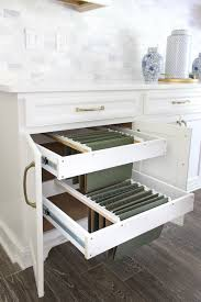 kitchen cupboard with drawers diy hanging file drawer in kitchen cabinet frills and drills