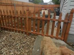 temporary temporary backyard fence dog fence exteriors privacy