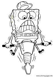 spongebob working hard coloring page05ee coloring pages printable