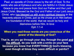 1 paul an apostle of christ jesus by the will of god to the