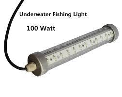 100w underwater fishing light green blue white led light fishing