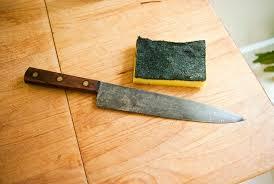 how to dispose of kitchen knives safely kitchen knife king restoring old kitchen knives