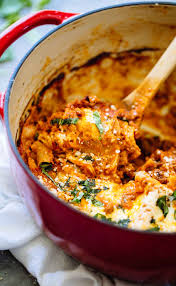 super easy one pot lasagna recipe pinch of yum